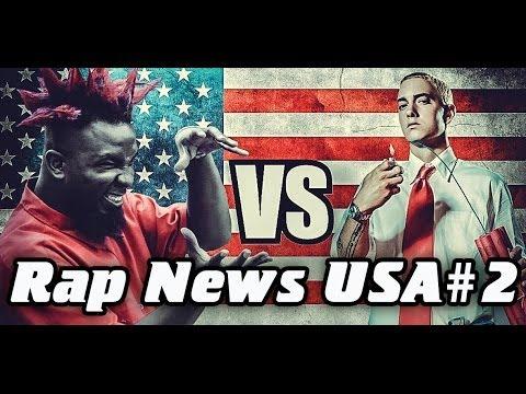 RapNews USA #2 [Eminem vs. Tech N9ne]