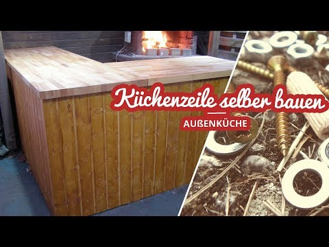 09:10 Außenküche Küchenzeile Selber Bauen   Selfmadekanal