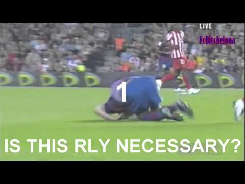 Lionel Messi is a FAKE ASS DIVER
