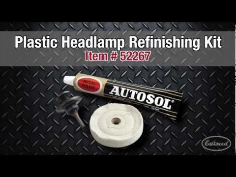 Plastic Headlight Refinishing Kit from Eastwood