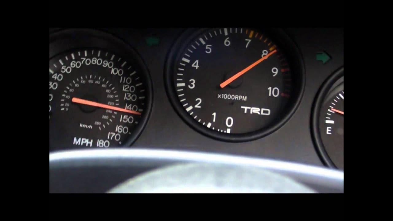 Toyota Supra Top Speed Supra Top Speed 280 Km/h