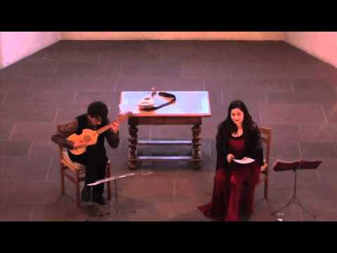 Arianna Savall and Michal Gondko perform Mudarra and Milán