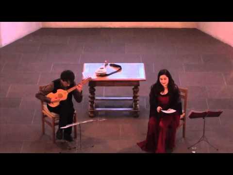 Arianna Savall and Michal Gondko perform Mudarra and Milán