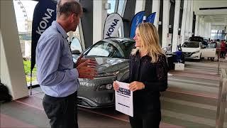 HYUNDAI KONA EV IS IN AUSTRALIA interview with Louise Andrews #HyundaiAustralia