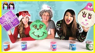 GIANT Size Christmas Cookies Baked for Santa with Princess ToysReview