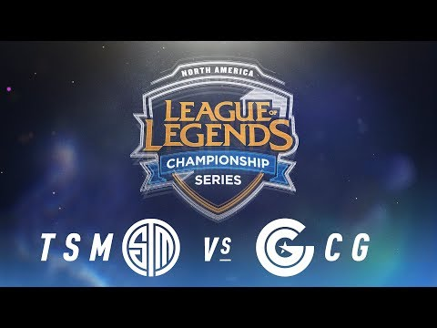 TSM vs. CG - Week 4 Day 1 | NA LCS Spring Split | TSM vs. Clutch Gaming (2018)