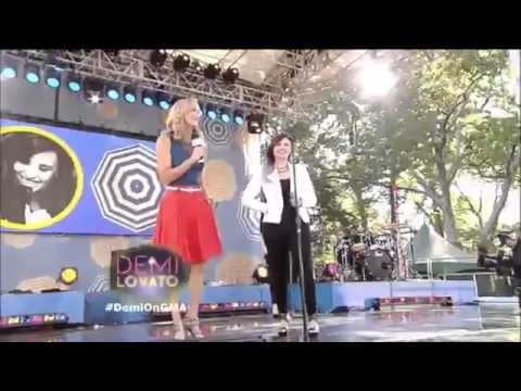 Demi Lovato - Neon Lights & Heart Attack (Live at Good Morning America)