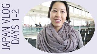 Japan Vlog Days 1-2 - Travelling to Osaka, Hotel Room Tour, and Ramen