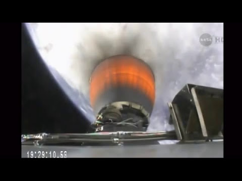 SpaceX Launches Cargo Mission to Space Station, Reusable Rocket Test | Video
