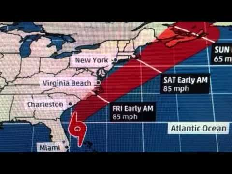 HURRICANE ARTHUR IS COMING TO THE CAROLINA'S  VIRGINIA BEACH VA - NEWS247
