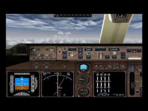 Boeing 747 PMDG FSX tutorial en español despegue