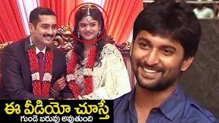 Uday kiran Rare Video : Actor Uday Kiran Visheeta Marriage andamp; Reception FULL Video | Nani | FL