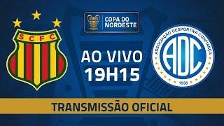 AO VIVO: Sampaio Corrêa x Confiança | Jogo de volta | Pré-Copa do Nordeste 2020