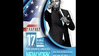 New York | USA | Prophetic Night with Major 1 | Prophet Shepherd Bushiri