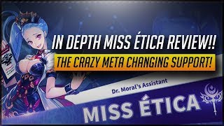 [KC] In Depth Miss Ética Review!! She's The Breast PVP Support Available!!  [Knights Chronicle]