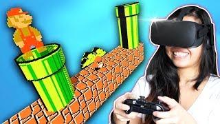 SUPER MARIO BROS IN VIRTUAL REALITY! - 3DNes VR (Oculus Rift)
