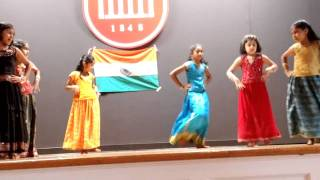 Srujana's Performance (Group Dance for 'Des Rangila' song