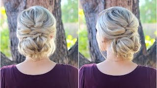Topsy Tail Bun | Updo | Cute Girls Hairstyles