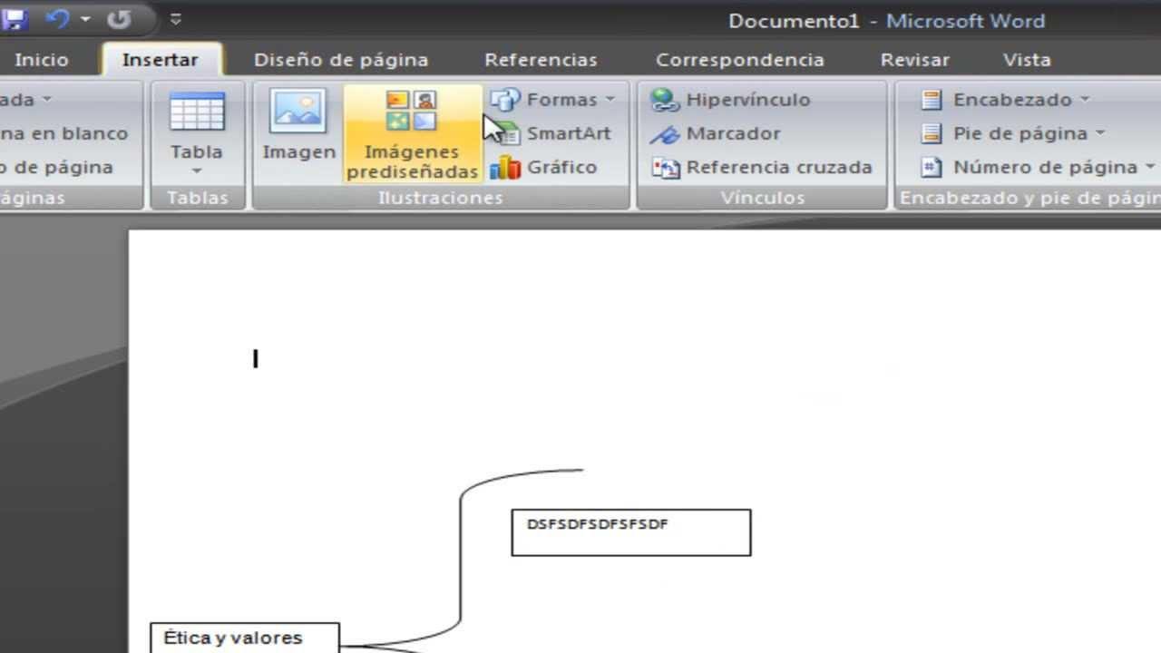 Como hacer un cuadro sinoptico en microsoft word 2007 bien for Como montar un cuadro electrico