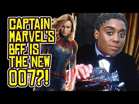 The Next James Bond 007 is CAPTAIN MARVEL'S BFF Maria?!