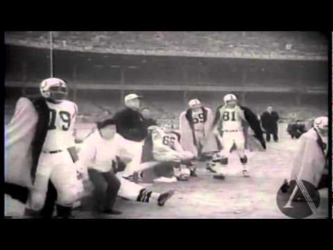 Johnny Unitas Defeats New York Giants in 1958 pro-grid Championship