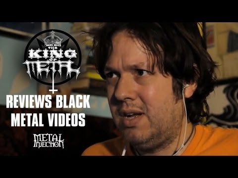 The King Of Metal Reviews Black Metal Music Videos On Metal Injection video