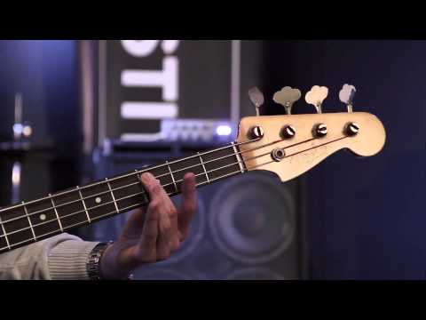 Bass Guitar Scales 1 - How To Play Bass Guitar Lesson Three video