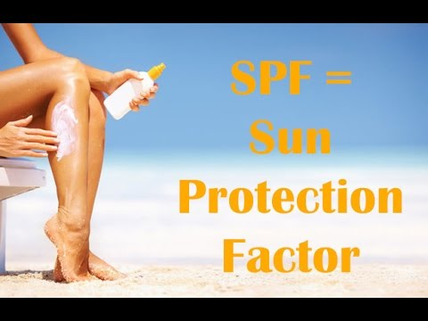 What does SPF mean? How much SPF do I need in sunscreen?