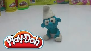 Smurf -  How to make with PLAY DOH DIY