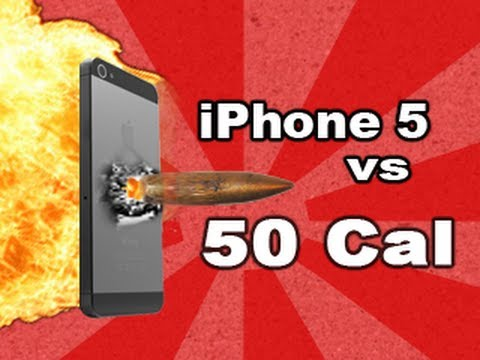 iPhone 5 vs .50 Cal: Tech Assassin - RatedRR Richard Ryan - 50 cal iPhone 5