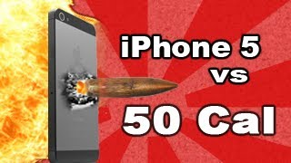 iPhone 5 vs .50 Cal_ Tech Assassin - RatedRR Richard Ryan - 50 cal iPhone 5