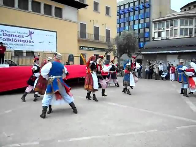 El grupo de Polonia en el Festival de la Danzas Folkloricas 2011