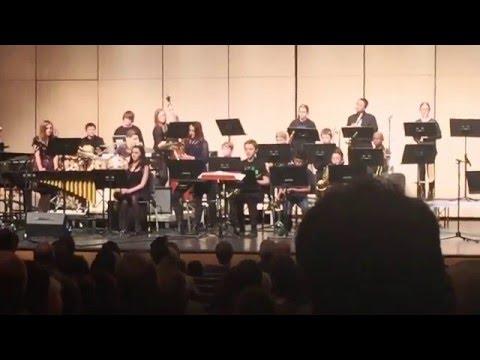 "2016 District 112 Jazz Festival - PRMS Jazz Band, ""Polar Vortex."" by Victor Lopez"