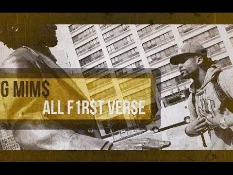 G MiMs (DJ RED Alert's Son) - All First Verse [PicturePerfect Submitted]