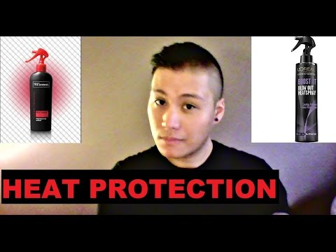 Best Heat Protection Sprays! (L'Oreal vs TresEmme)