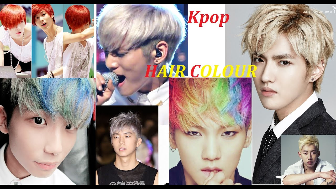 Kpop hairstyle list images