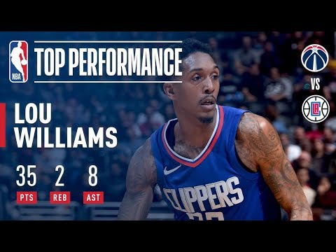 Lou Williams Wins It For the Clippers, Scores 35 | December 9, 2017