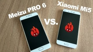 Xiaomi Mi5 (4GB RAM,128GB ROM) vs Meizu PRO 6 (4GB RAM,64GB ROM) - Performance & Camera test