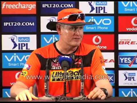 Sunrisers Hyderabad coach Tom Moody talks about his team's chances in IPL
