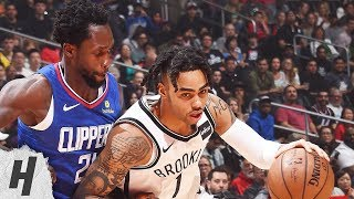 Brooklyn Nets vs Los Angeles Clippers - Full Game Highlights | March 17, 2019 | 2018-19 NBA Season