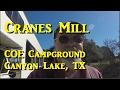 Cranes Mill COE Campground at Canyon Lake, TX