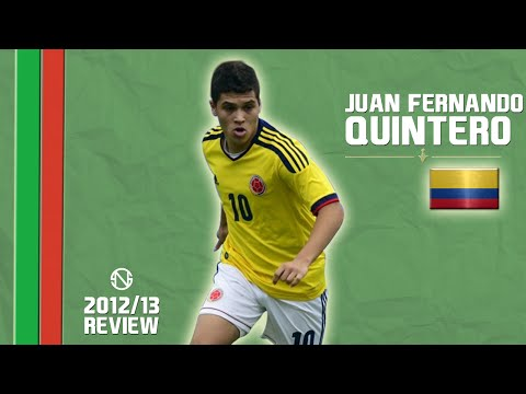 JUAN FERNANDO QUINTERO | Goals, Skills, Assists | Colombia | 2012/2013 (HD)