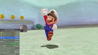 Super Mario Odyssey Any% Speedrun former WR in 1:00:41