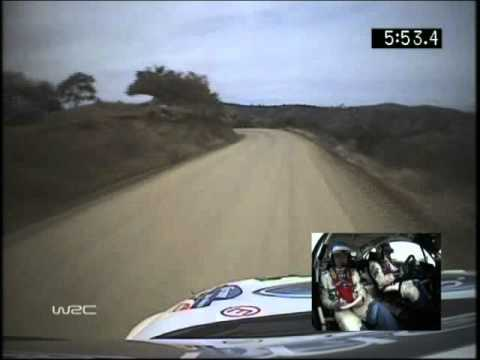 WRC Rally 2005 Mexico Toni Gardemeister Onboard pure sound