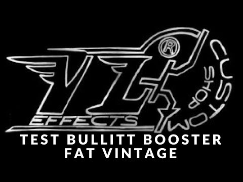 Fender Guitar test : VL EFFECTS bullitt booster fat vintage By Alex Alesk Turbé