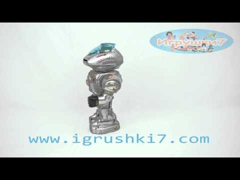 Робот 28085/187717 (18) на бат-ке, стреляет дисками, в кор-ке