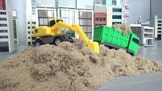 꼬마버스 타요 중장비 모래놀이 장난감 Tayo The Little Bus Heavy Truck Sand Play Toys