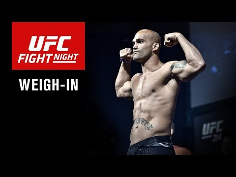 UFC Fight Night Winnipeg: Official Weigh-in