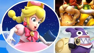 New Super Mario Bros. U Deluxe New Trailer, Peachette & Nabbit as Playable Characters (Switch)