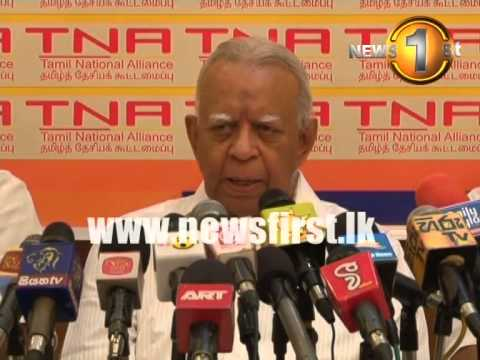 30th December 2014 - TNA  to support Maithripala Sirisena